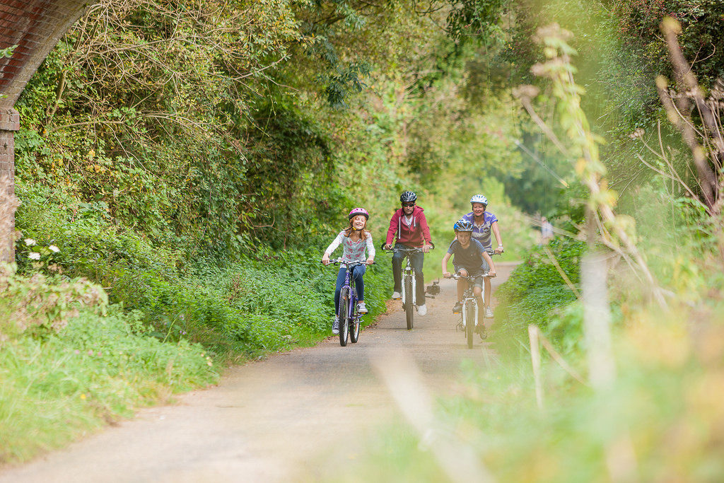 Family cycling on the Isle of Wight, Slow Guide to the Isle of Wight