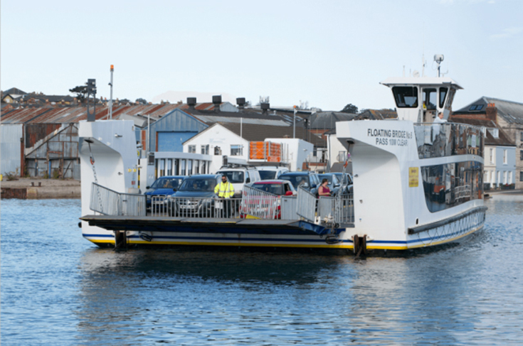 Isle of Wight Floating Bridge, Slow Wight Travel Guide to the Isle of Wight